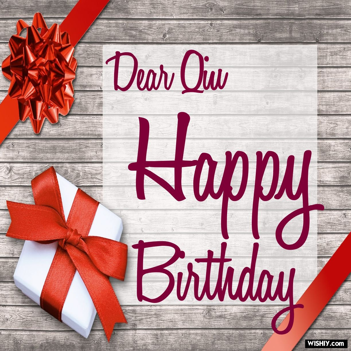 50 Best Birthday Images For Qiu Instant Download Wishiy Com