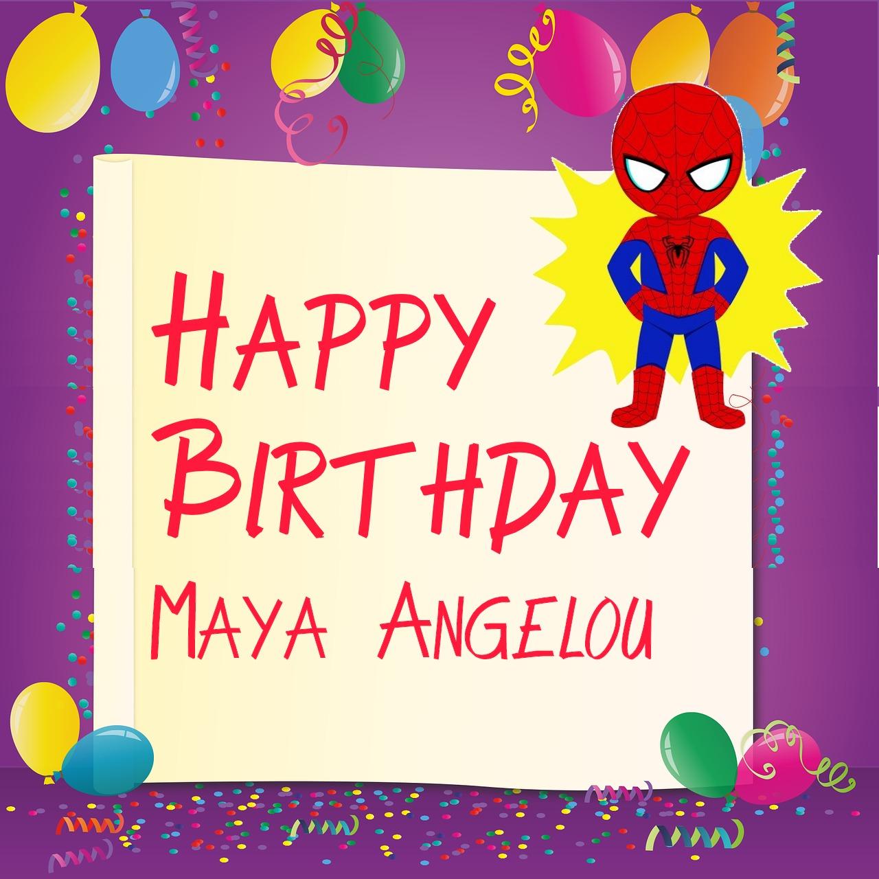25 Meilleur Anniversaire Images Pour Maya Angelou Telechargement Instantane 2020